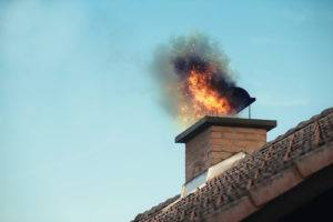 THE HIDDEN THREAT OF CHIMNEY FIRES